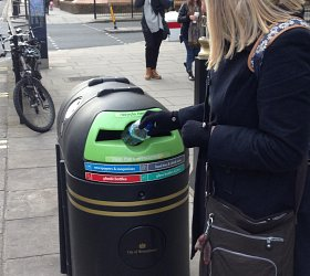 Should companies help meet litter collection costs?