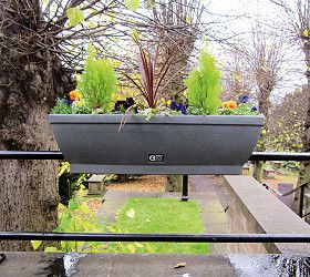 Amberol self-watering planters offer value for money says Halstead in Bloom