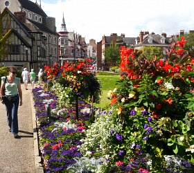 Amberol helps Shrewsbury become the town of flowers
