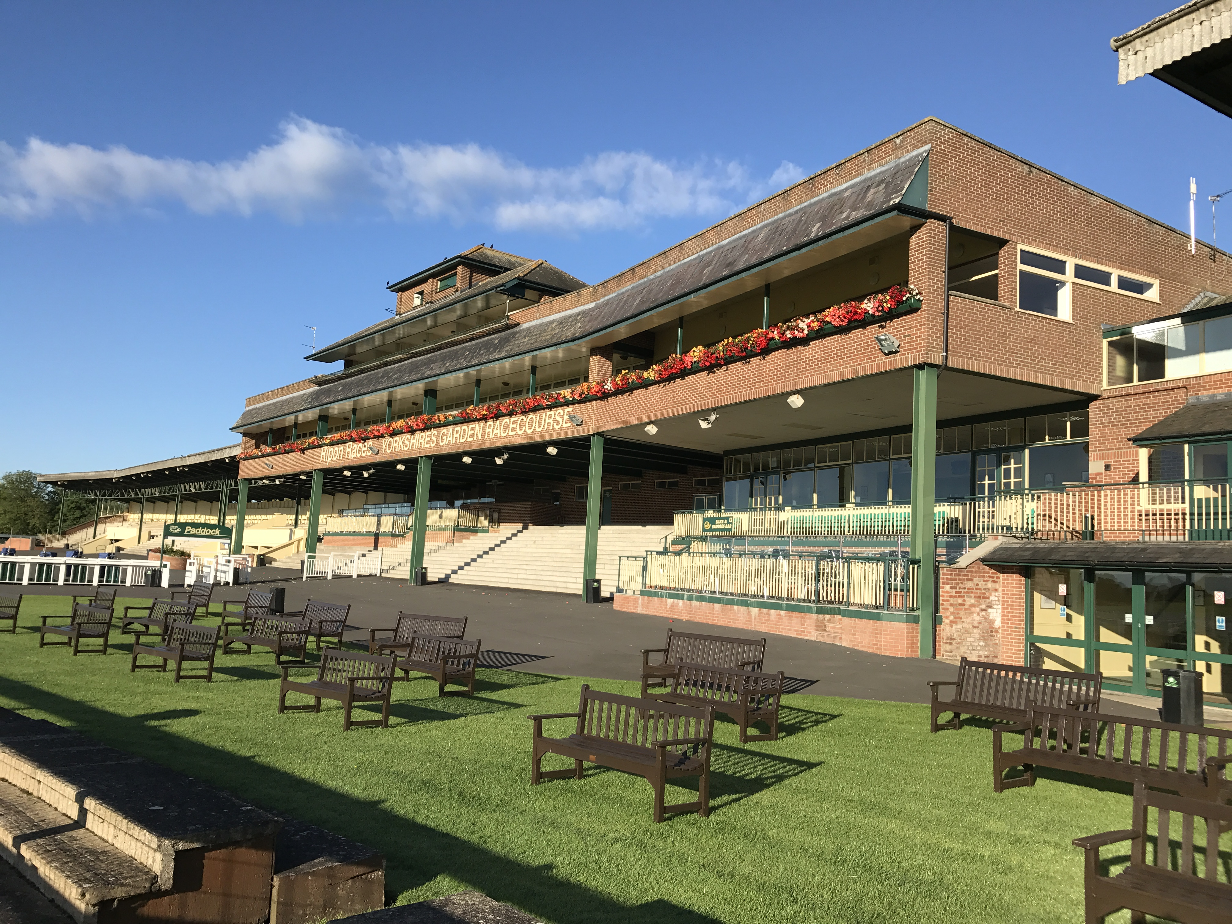 How Amberol helped to make Ripon the 'Garden Racecourse'