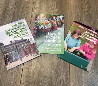 Calling all In Bloomers, gardeners and councils - last free tips booklets up for grabs